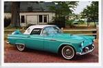 1956 FORD THUNDERBIRD CONVERTIBLE - Front 3/4 - 49607