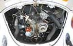 1978 VOLKSWAGEN BEETLE CONVERTIBLE - Engine - 49662