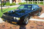 1987 BUICK REGAL GRAND NATIONAL SEDAN - Front 3/4 - 49705