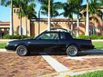 1987 BUICK REGAL GRAND NATIONAL SEDAN - Side Profile - 49705