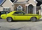 1971 DODGE CHALLENGER R/T COUPE - Side Profile - 49731