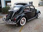 1963 VOLKSWAGEN BEETLE 2 DOOR SEDAN - Rear 3/4 - 49765