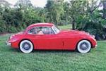 1957 JAGUAR XK 150 FHC - Side Profile - 49859