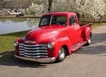 1950 CHEVROLET 3100 CUSTOM PICKUP - Front 3/4 - 50197