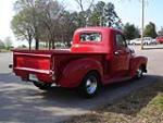1950 CHEVROLET 3100 CUSTOM PICKUP - Rear 3/4 - 50197