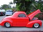 1941 WILLYS CUSTOM COUPE - Side Profile - 50198