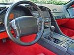 1991 CHEVROLET CORVETTE COUPE - Interior - 50199