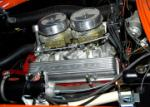 1956 CHEVROLET CORVETTE CONVERTIBLE - Engine - 60823