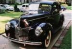 1940 FORD COUPE - Front 3/4 - 60908