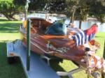 1936 BAVER CRAFT LAUNCH PROTOTYPE RE-CREATION & TRAILER - Rear 3/4 - 60916