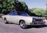 1969 DODGE CORONET R/T 2 DOOR HARDTOP CUSTOM - Front 3/4 - 60998