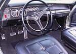 1969 DODGE CORONET R/T 2 DOOR HARDTOP CUSTOM - Interior - 60998