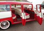 1956 CHEVROLET 210 4 DOOR STATION WAGON - Interior - 61107