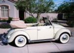 1959 VOLKSWAGEN BEETLE CONVERTIBLE - Side Profile - 61127