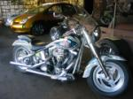 "1995 HARLEY-DAVIDSON MOTORCYCLE ""WILLIAM SHATNERS"" - Front 3/4 - 61182"