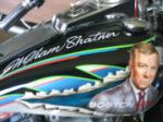 "1995 HARLEY-DAVIDSON MOTORCYCLE ""WILLIAM SHATNERS"" - Side Profile - 61182"