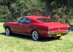 1968 FORD MUSTANG FASTBACK - Rear 3/4 - 61235