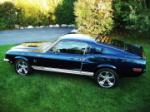 1968 SHELBY GT500 KR CUSTOM FASTBACK - Side Profile - 61253