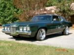 1969 PONTIAC GRAND PRIX CUSTOM COUPE - Front 3/4 - 61348