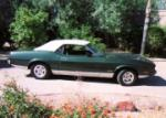 1973 FORD MUSTANG CONVERTIBLE - Side Profile - 61353