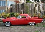 1957 FORD THUNDERBIRD CONVERTIBLE - Side Profile - 61425