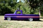 1966 CHEVROLET C-10 CUSTOM PICKUP - Side Profile - 61462