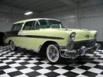 1956 CHEVROLET NOMAD 2 DOOR STATION WAGON - Front 3/4 - 61645