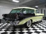 1956 CHEVROLET NOMAD 2 DOOR STATION WAGON - Rear 3/4 - 61645