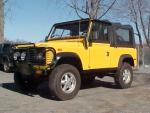 1994 LAND ROVER DEFENDER 90   - Front 3/4 - 64035