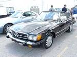 1987 MERCEDES-BENZ 560SL ROADSTER - Front 3/4 - 64140
