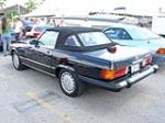 1987 MERCEDES-BENZ 560SL ROADSTER - Rear 3/4 - 64140