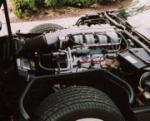 1990 CHEVROLET CORVETTE COUPE - Engine - 64204