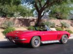 1965 CHEVROLET CORVETTE CONVERTIBLE - Rear 3/4 - 64214