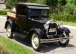 1929 FORD MODEL A PICKUP - Front 3/4 - 65006