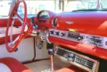 1956 FORD THUNDERBIRD CONVERTIBLE - Interior - 65760