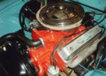 1956 FORD THUNDERBIRD CONVERTIBLE - Engine - 65859