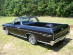 1966 CHEVROLET EL CAMINO PICKUP - Rear 3/4 - 66020