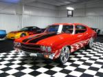 1972 CHEVROLET CHEVELLE MALIBU PRO-TOURING COUPE - Front 3/4 - 66041