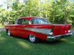 "1957 CHEVROLET BEL AIR CUSTOM 2 DOOR HARDTOP ""CHUBSTER"" - Rear 3/4 - 66060"