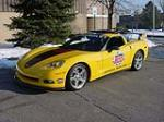 2005 CHEVROLET CORVETTE COUPE DAYTONA PACE CAR - Front 3/4 - 66251