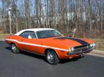 1970 DODGE CHALLENGER R/T COUPE - Front 3/4 - 66335