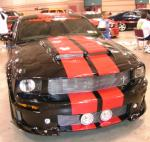 "2006 FORD MUSTANG GT COUPE CUSTOM ""FUNKMASTER FLEXS"" - Rear 3/4 - 66345"