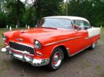 1955 CHEVROLET BEL AIR 2 DOOR HARDTOP - Front 3/4 - 66403