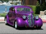 1937 PLYMOUTH 2 DOOR CUSTOM COUPE - Front 3/4 - 66423
