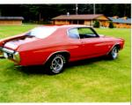 1970 CHEVROLET CHEVELLE SS LS5 COUPE - Rear 3/4 - 66463