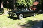 1967 CHEVROLET CHEVELLE CUSTOM CONVERTIBLE - Front 3/4 - 70669