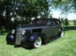 1937 BUICK SERIES 60 CUSTOM 4 DOOR SEDAN - Front 3/4 - 70679