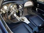 1963 CHEVROLET CORVETTE CONVERTIBLE - Interior - 70725