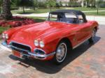 1962 CHEVROLET CORVETTE CONVERTIBLE - Front 3/4 - 70728
