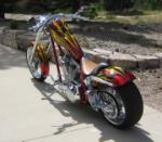 2005 ASVE CUSTOM CHOPPER - Rear 3/4 - 71088